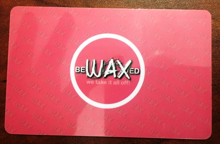Bewaxed loyalty card